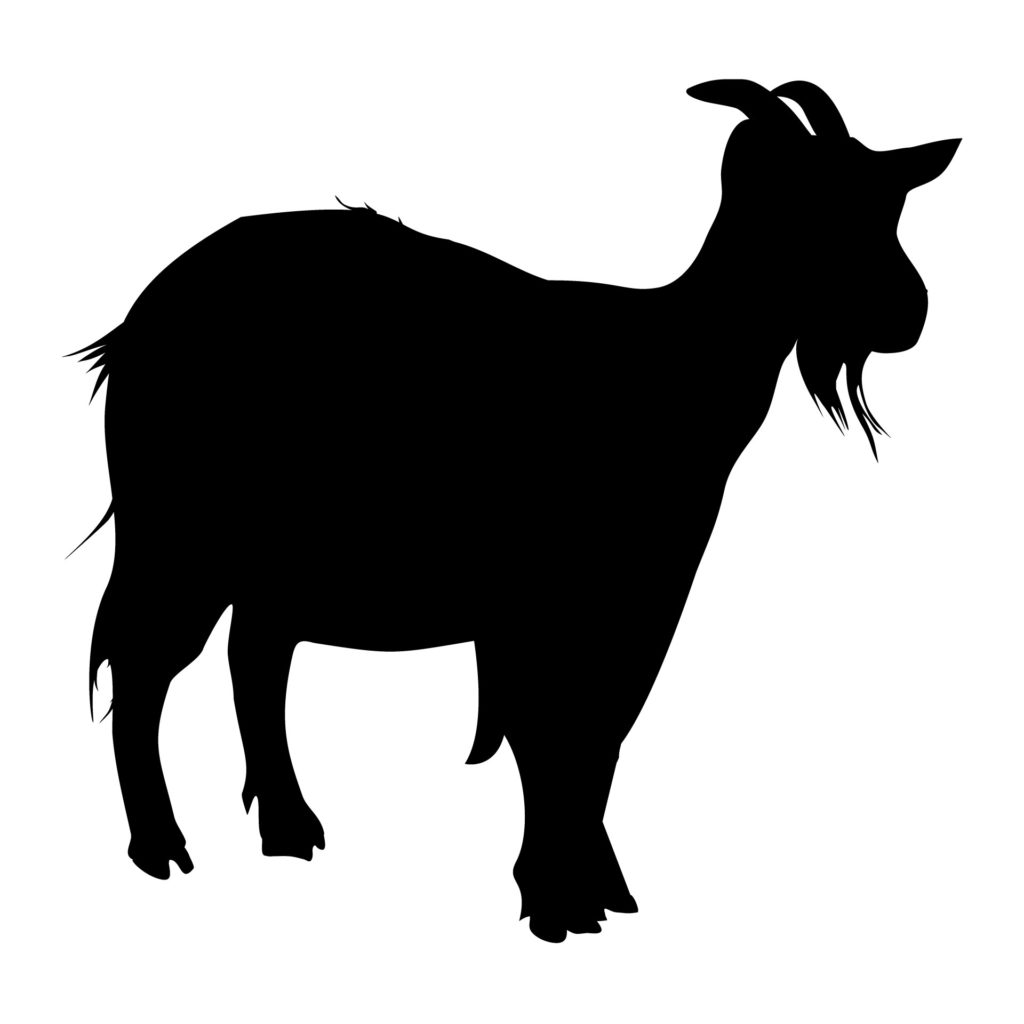 Goat Silhouette 1433525529cto The Black Goat Show goat svg files for cricut silhouette show meat goat heartbeat hoof marks with heart, scrapbook, tshirt tote silhouette pdf, dxf, png. goat silhouette 1433525529cto the